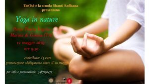 Yoga in nature @ Ginosa Marina