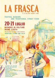 La Frasca - Festival Buskers e Street Food @ Rionero in Vulture