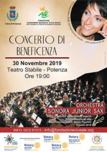 Concerto di Beneficenza Orchesta Sonora Junior Sax @ Potenza