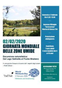Escursione dal Lago Salinella al fiume Bradano @ Marina di Ginosa
