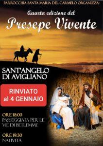 Presepe Vivente @ Sant'Angelo di Avigliano