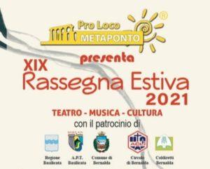 Programma eventi estate 2021 Metaponto @ Metaponto